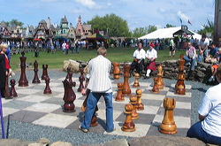 giant chess in USA