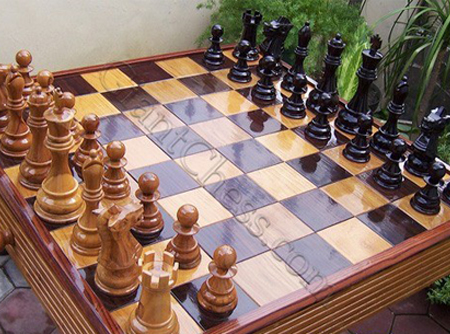 Outdoor Chess Set For Gardens Or Furniture Decorations   From 8 ...