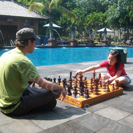 Outdoor Chess Set For Gardens Or Furniture Decorations From 8