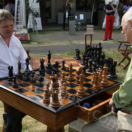 24 Inch Wooden Chess Set